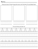 Handwriting Packet