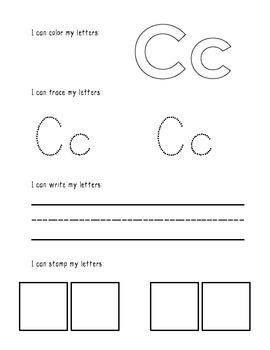Handwriting Packet