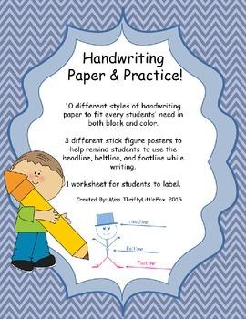 Handwriting Paper & Practice!