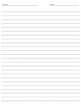 Handwriting Paper and Graph Paper