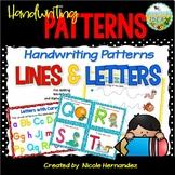 Fine Motor Skill Activities - Handwriting Patterns - Lines