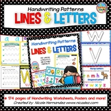 Fine Motor Skill Activities - Handwriting Patterns - Lines and Letters