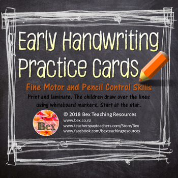 Handwriting - Pencil Control Skills