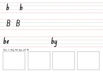 Handwriting Phonics Book