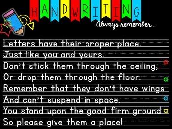 Handwriting Poem