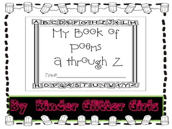 Handwriting Poems from A to Z