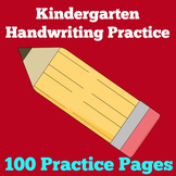 Kindergarten Handwriting Practice | Worksheets