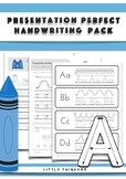 Handwriting Practice - Over 250 pages of handwriting activities