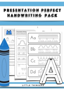 Handwriting Practice *US Font* - Over 250 pages of handwriting activities