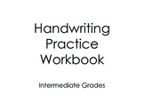 Handwriting Practice Workbook for Intermediate Grades