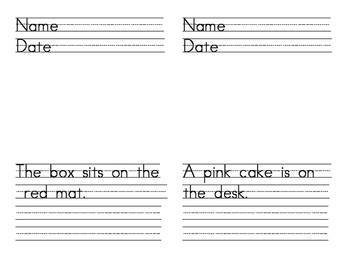 Handwriting Practice #2