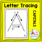 Capital Letter Tracing