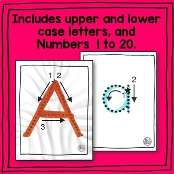 Letter and Number Tracing