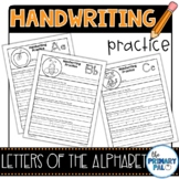 Handwriting Practice: Letters of the Alphabet