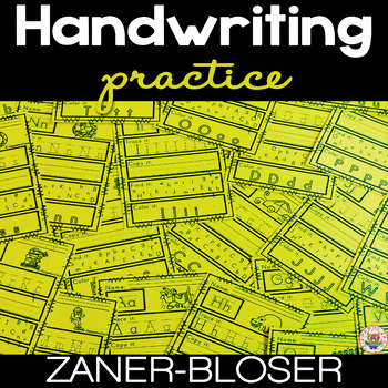 #summerwishes Worksheets for Zaner Bloser Handwriting Practice