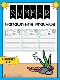 Handwriting Practice A-Z (Summer) FREE