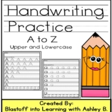 Handwriting Practice A-Z - Upper and Lowercase