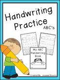 Handwriting Practice - ABC's