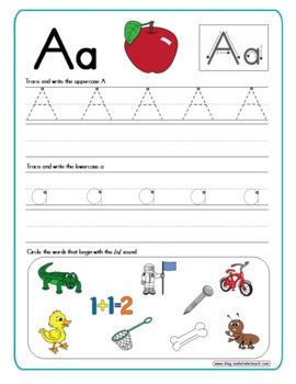 Handwriting Practice- Alphabet