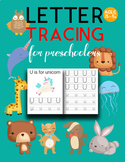 Handwriting Practice Alphabet Tracing Letters A-Z Animal Themed