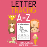 Handwriting Practice Alphabet Tracing Letters A-Z and Word Tracing