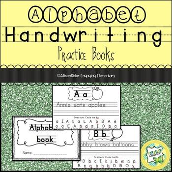 Handwriting Practice Books