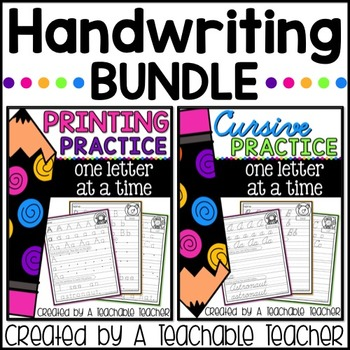 Handwriting Bundle