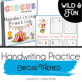 Handwriting Practice - Circus Themed