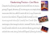 Handwriting Practice - Coco Movie (Victorian Cursive)