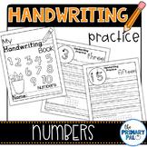 Handwriting Practice: Numbers