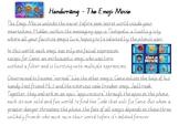 Handwriting Practice - Emoji  Movie (Victorian Cursive)