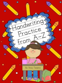 Handwriting Practice From A-Z