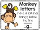 Handwriting Practice> Hands On Activities & Printables> Giraffes, Monkeys, Ducks