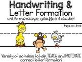 Handwriting Practice> Hands On Activities & Printables> Gi