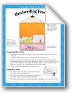 Handwriting Practice (Hanger Pocket Center)