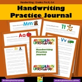 Handwriting Practice Journal