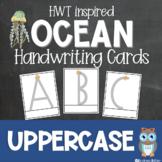Handwriting Practice Letter Cards Ocean Theme