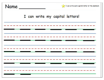 Handwriting Practice/Letter Recognition