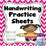 Handwriting Practice (Lowercase)