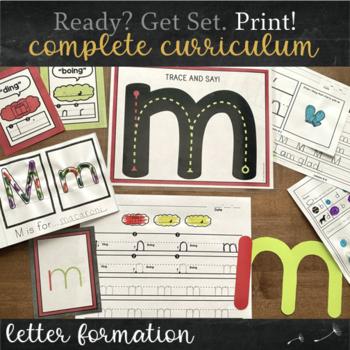 Print Handwriting Practice MEGA Bundle - Print / Manuscript Complete Curriculum