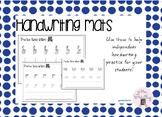 Handwriting Practice Mats