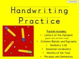 Handwriting Practice Mega Packet