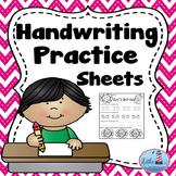 Handwriting Practice (Numbers 0-30)