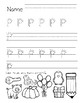 Handwriting Practice Pages--Alphabet and Numeral Writing/Search and Find