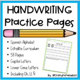 Handwriting Practice Pages - Spanish (Estrellita)