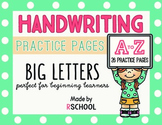 Handwriting Practice Pages for Beginning Learners