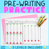 Handwriting Practice Pages | Pre-Writing Strokes | NO PREP