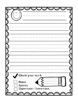 Handwriting Practice- PreK Style
