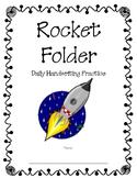 Handwriting Practice - Rocket Folders