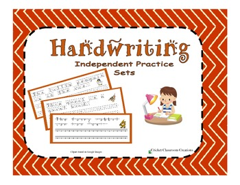 Handwriting Practice Sets